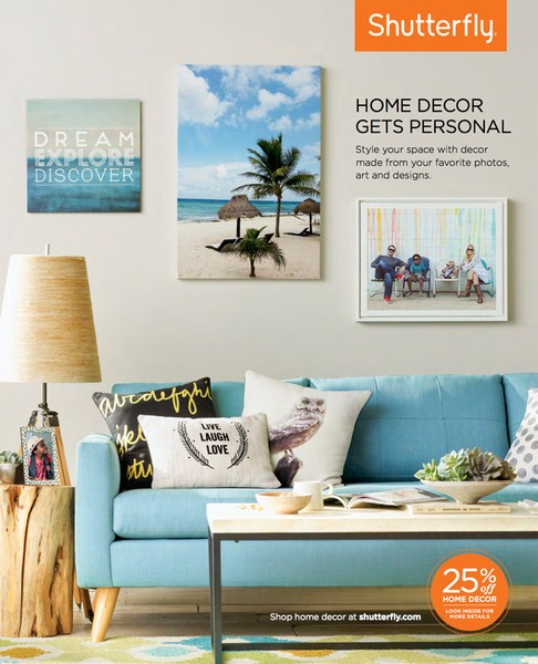 Imprint Your Home With Personalized Decor As Seen In Shutterflys Fall Catalog Photographed By David Tsay